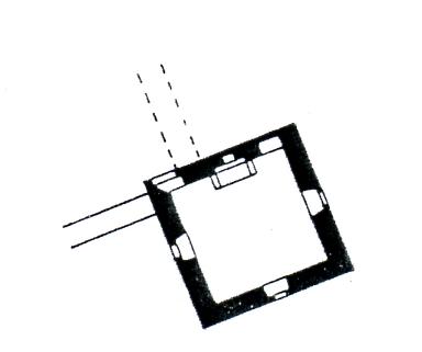 Grundriss Ostturm