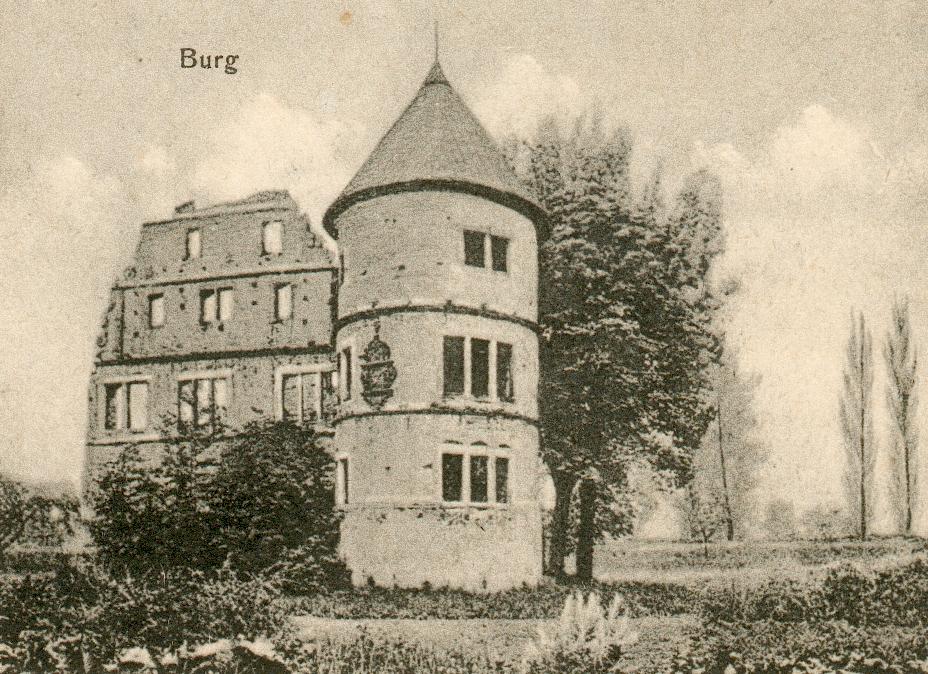 Herrenhaus von Norden betrachtet (ca. 1920).