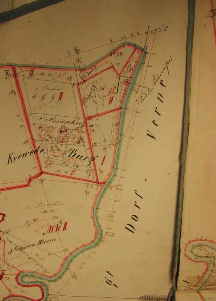 Kartenauszug von 1828.
