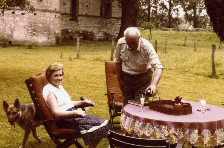 Familie Ruth und Wilhelm Saamer.