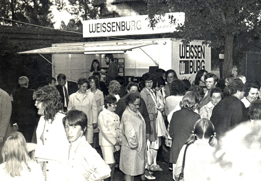 Erfrischende Getränke gab es am Weissenburger Stand.